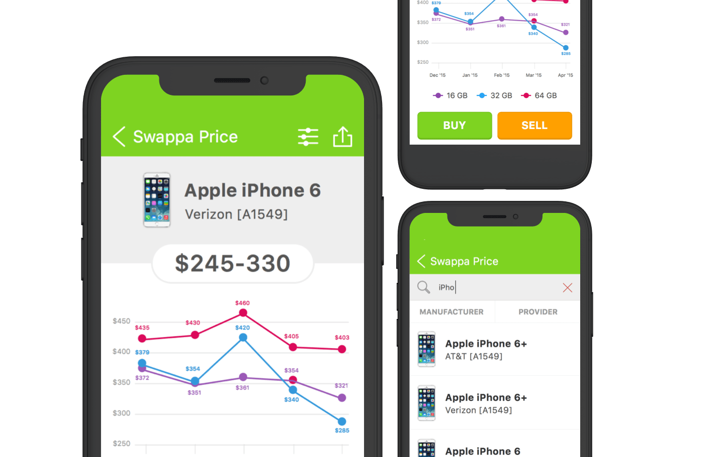 Swappa - Mobile app design
